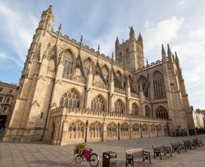 Bath Abbey - Bath Stone Architecture