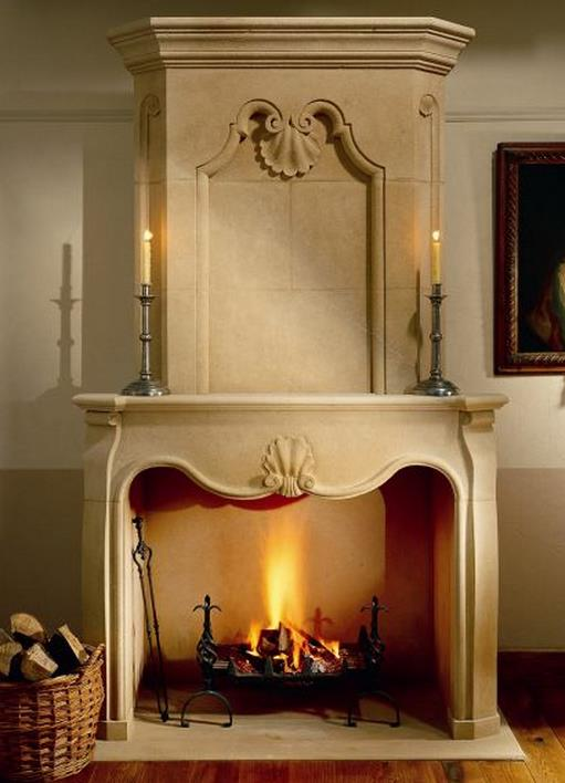 Bath Stone Fireplace by Ian Knapper