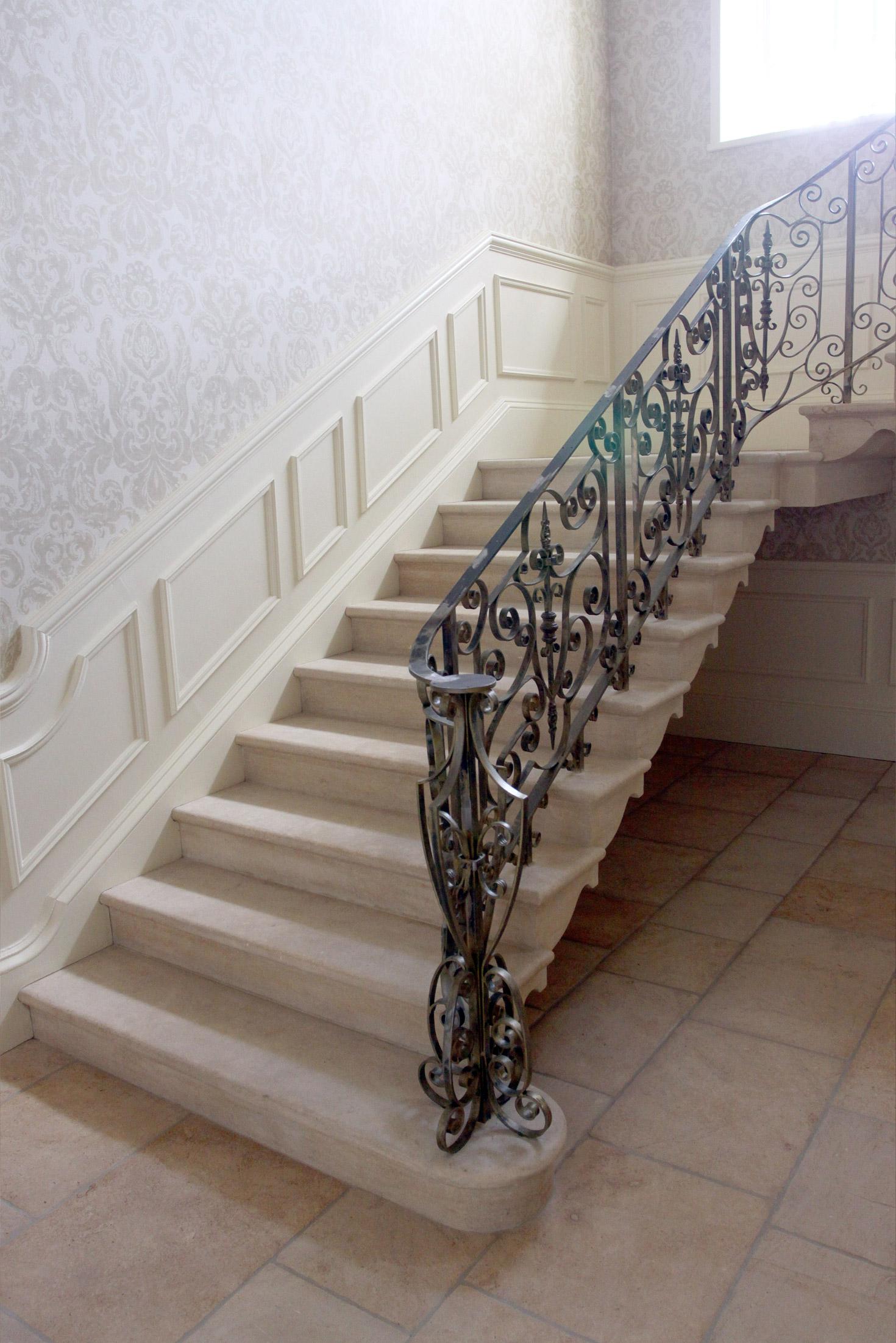 Moleanos Stone Staircase 1 - interior stone architecture