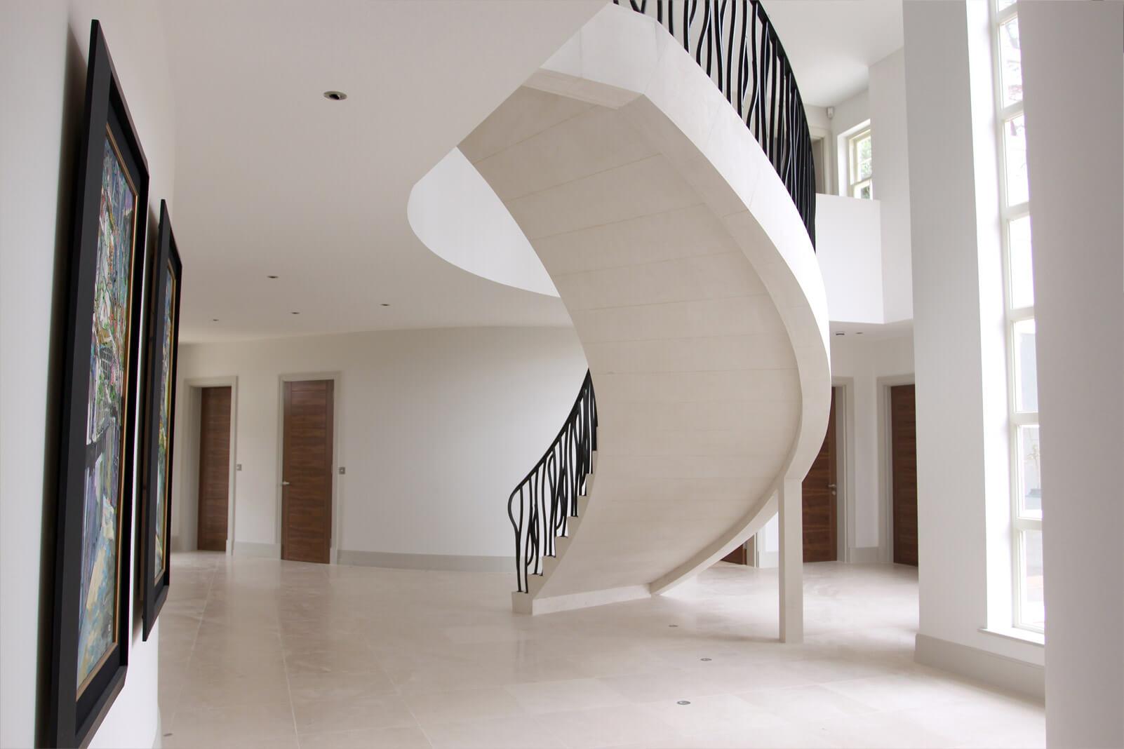 Stone Staircases Brochure Ian Knapper Ltd