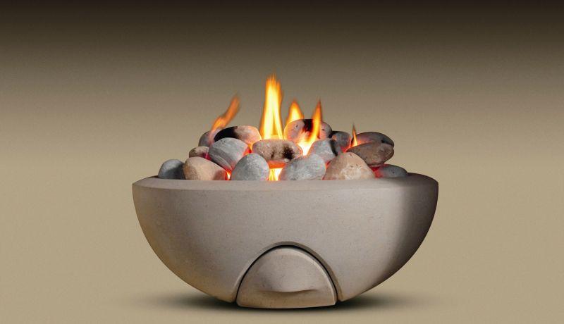 Modern Fireplace Bowl