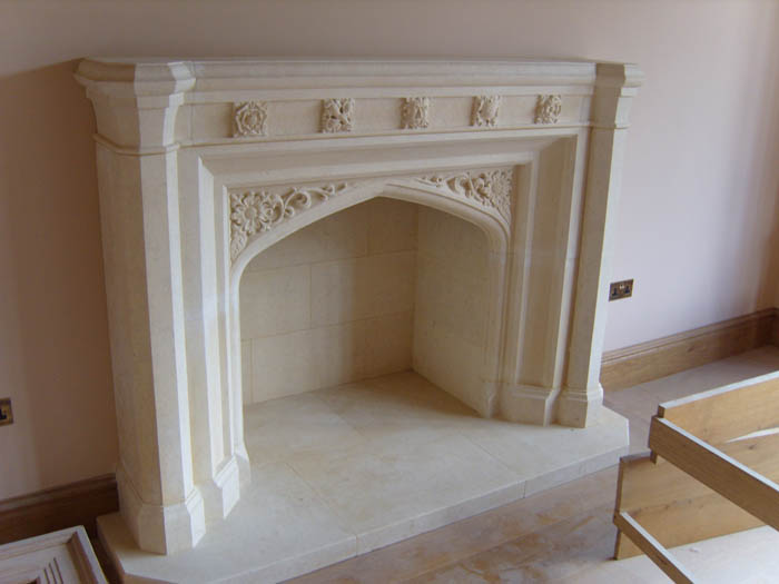 Traditional Fireplace 121