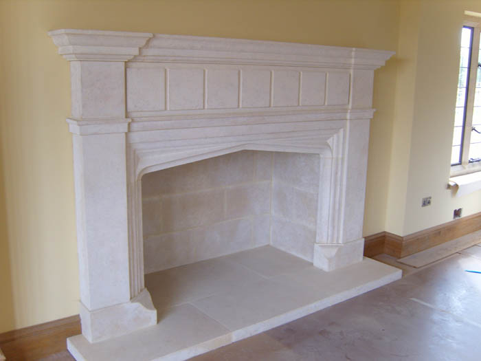 Traditional Fireplace 131