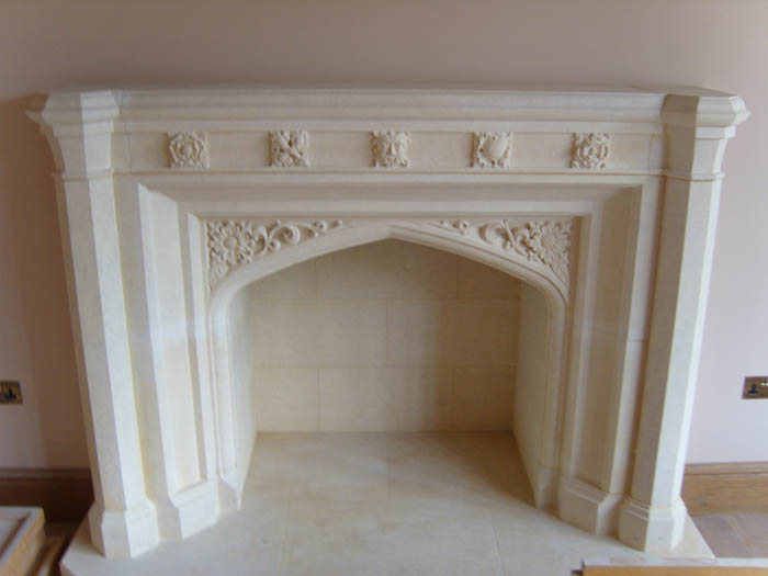 Traditional Fireplace 141