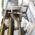 Steel Frame to Support the Stair