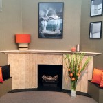 stone fireplace - decorex