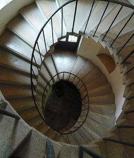 Convento della Carita Stone Staircase