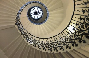 Tulip Stone Staircase, Queens House, Greenwhich