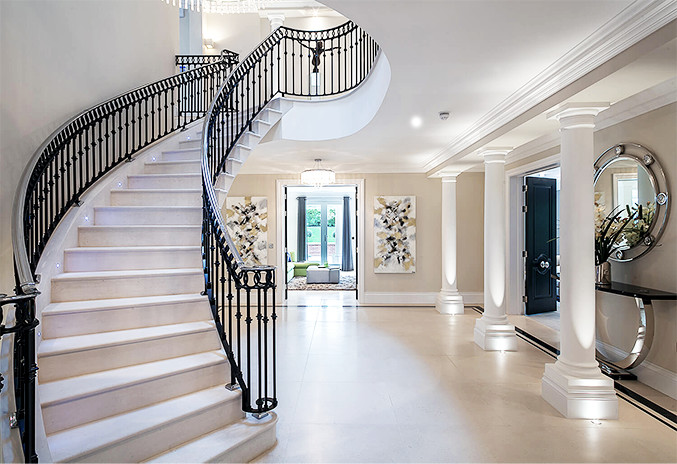 The Look of a Stone Staircase