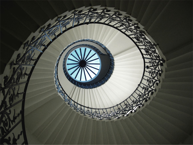 The Historic Stone Staircases at the Queens House