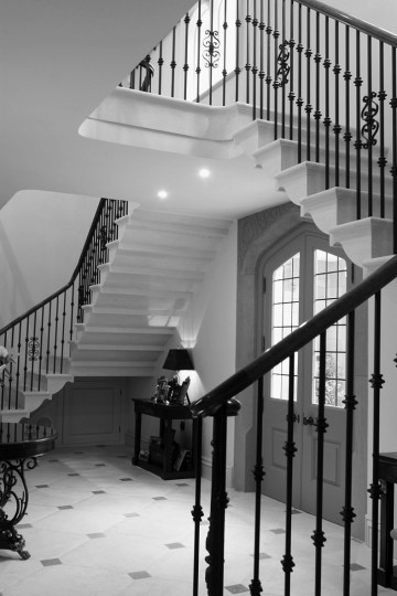 66. Anstrude Winged Staircase – Staffordshire