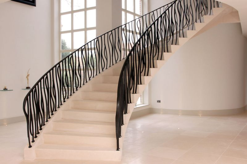 Floating Moleanos Stone Staircase