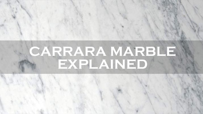 Carrara marble explained